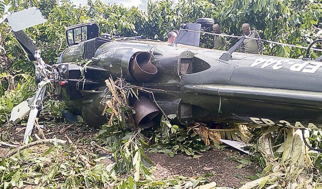 Peruvian Army Agusta A109K2 Helicopter Crashed Into Jungle Near Mazamari