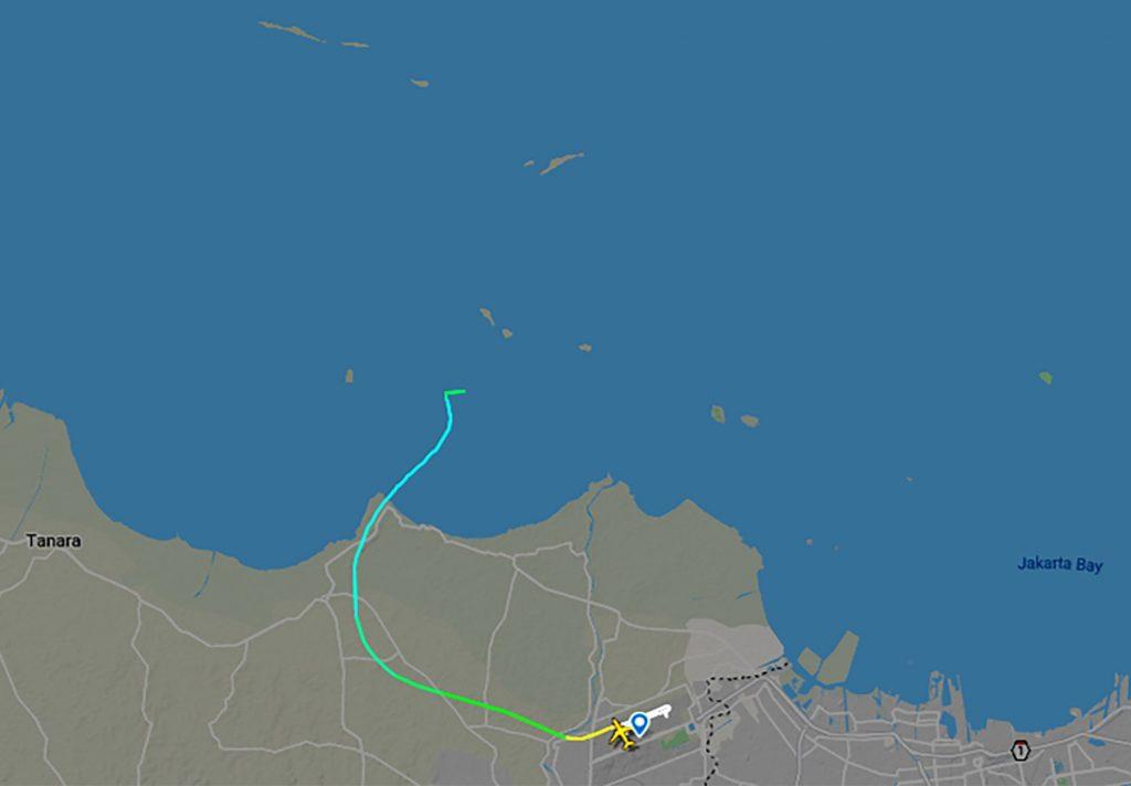 Indonesian Navy Finds The Crash Site Of Sriwijaya Air Flight 182