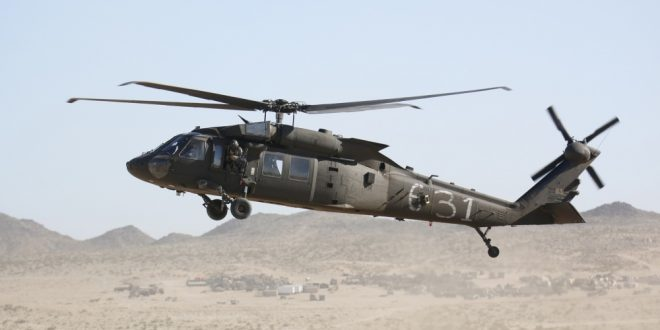 U.S. Army UH-60 Black Hawk Helicopter Crash Lands In Syria