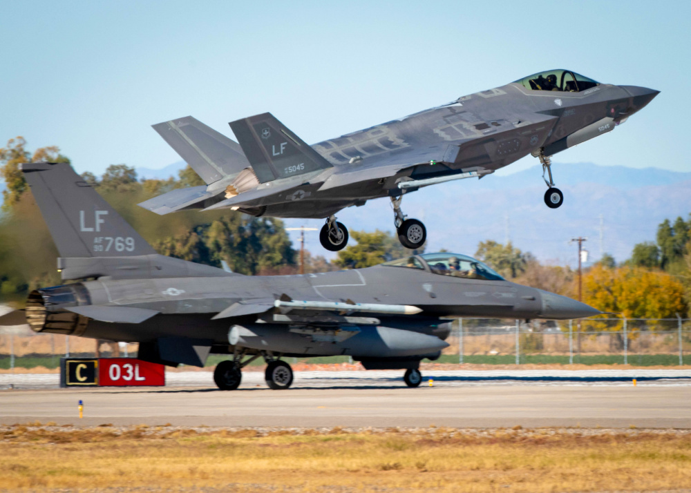 USAF Will Try To Operate F-16s & F-35s From Guam's Austere Jungle Airfield