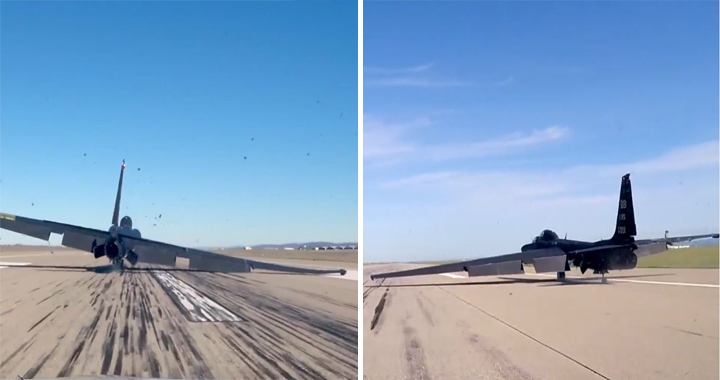 How does someone become a U-2 pilot? Montage Shows Bad Dragon Lady Landings