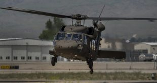 U.S. Army National Guard UH-60 Black Hawk Helicopter Crashes In Idaho