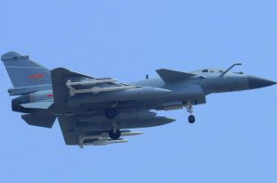 PLAAF J-10C Fighter Jet Spotted Carrying Four PL-15 air-to-air Missile For The First Time