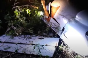 Taiwanese Military MALE UAS Crashed During A Test Flight