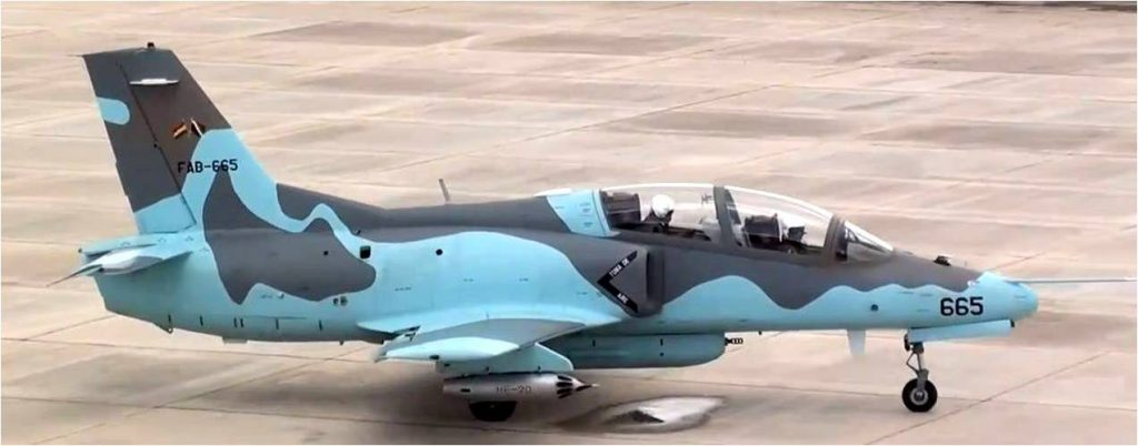 Bolivian Air Force Hongdu JL-8 Trainer Plane Crashes Into Residential House
