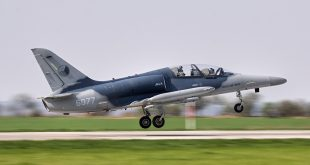 Czech Air Force Aero L-159 Trainer Loses Canopy During Flight
