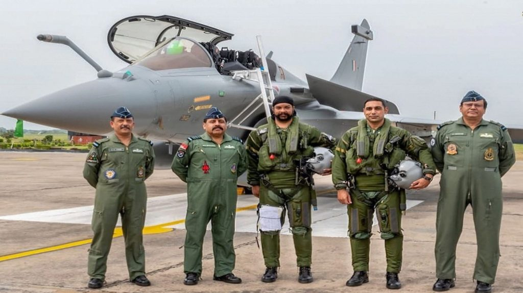 Indian Air Force Abruptly Transfer The Commanding Officer Of First Rafale squadron