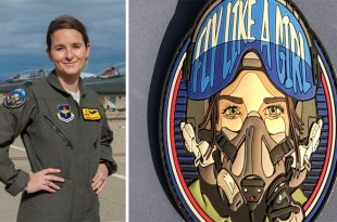 Here's USAF 'Fly Like a Girl' Patch That Honors Female Aviators