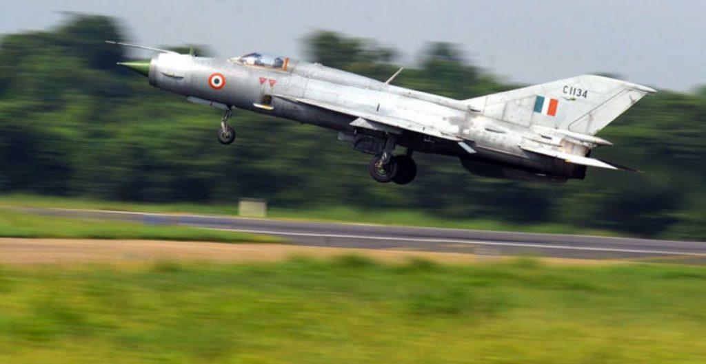 IAF MiG-21 Bison Crashes During Takeoff Killing Group Captain A Gupta