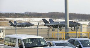 Two JASDF F-35A Lightning II Fighter Make an Emergency Landing at Aomori Airport