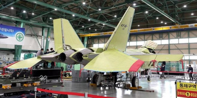 South Korea Set to Roll Out The First Prototype Of Next-generation KF-X Fighter Jet In April