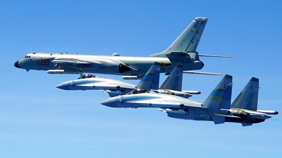 Twenty PLAAF Aircraft Violated Taiwanese Airspace In Largest-ever Incursion