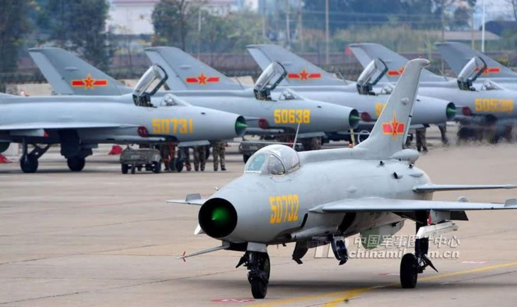China Started Replacing J-7 Fighter Jets With Advanced, Next-generation Models