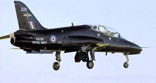 Royal Navy Hawk T1 Trainer Aircraft Crashes In Cornwall