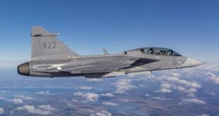 Saab Test-flew Gripen Fighter Jet With 3D-Printed Parts