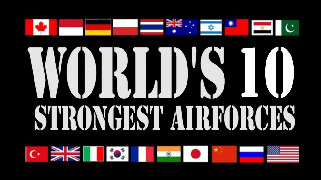 Top 10 Air Forces In The World