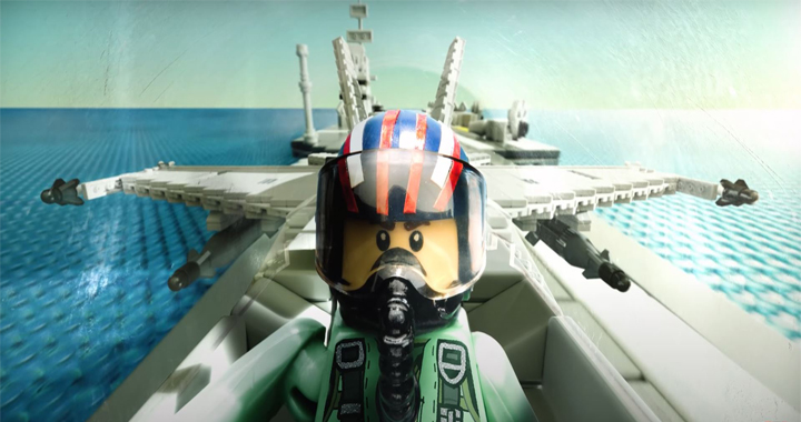 "A Guy Recreated Tom Cruise's ""Top Gun: Maverick"" Trailer In LEGO"