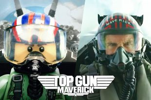 Side by Side Comparison Video Shows Top Gun: Maverick Original Trailer Vs Top Gun: Maverick Trailer In LEGO