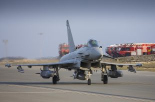 Royal Air Force Typhoon Used Storm Shadow Cruise Missiles For The First Time In Combat