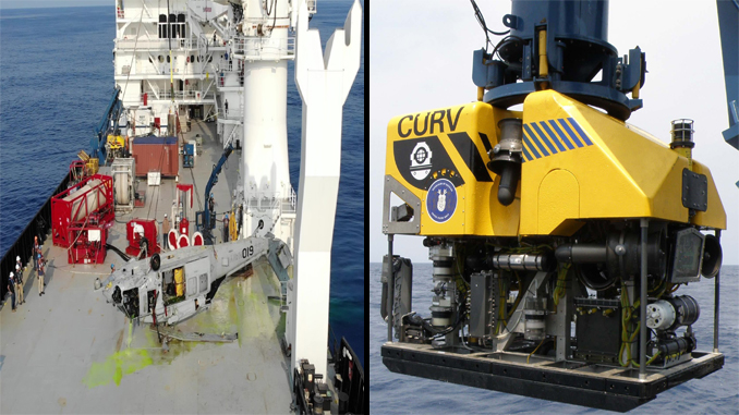 U.S. Navy Sets New Record For Aircraft Recovery From The Bottom Of The Sea