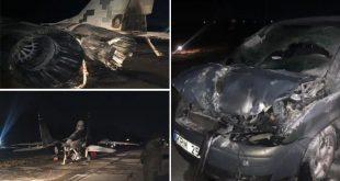 Ukrainian Air Force Mig-29 Damaged After Drunk Officer Rams Car into Jet