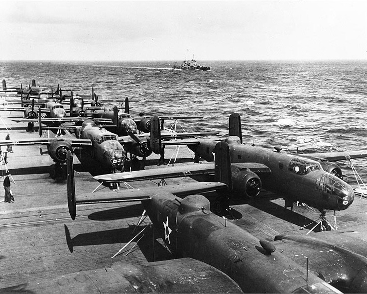 66 Years Ago Today U.S. Launched Doolittle Raid From USS Hornet