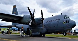Colombian Air Force C-130 Suffered Hydraulic Failure at Bogotá Airport