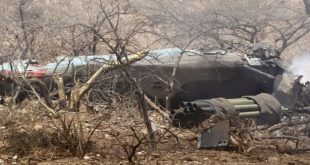 Tigray Rebels Claims To Shot Down Ethiopian Mi-35 Helicopter