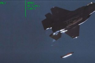 Declassified Video Shows F-35 Dropping A Dummy Thermonuclear Bomb