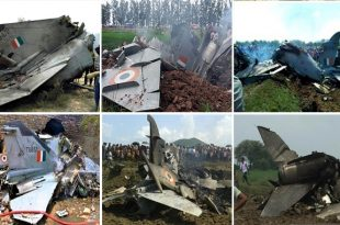 Indian Air Force Lost 26 Fighter Jets From 2014 to 2019