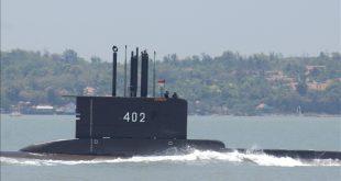 KRI Nanggala 402 Submarine Goes Missing With 53 People Onboard