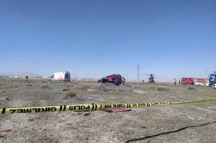 Turkish Stars Display Team NF-5 Jet Crashes At Konya Air Base Killing Pilot