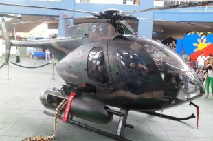 Philippine Air Force MD520MG Helicopter Crash Off Bohol Coast