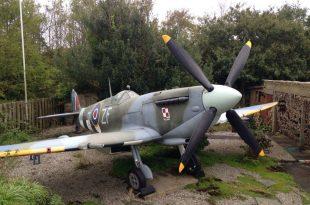 Lucky Man has a Spitfire In His Garden