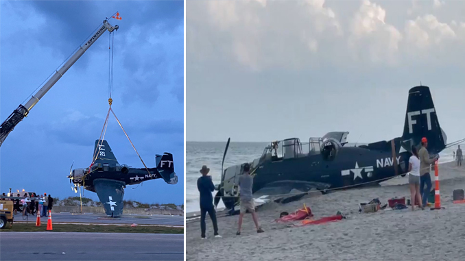 Here's How TBM Avenger Is Removed From The Ocean