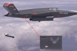 XQ-58 Valkyrie Drone Uses Weapons Bay For First Time To Launch Another Drone