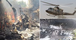 Zimbabwe Air Force Helicopter Crashes In Residential Area