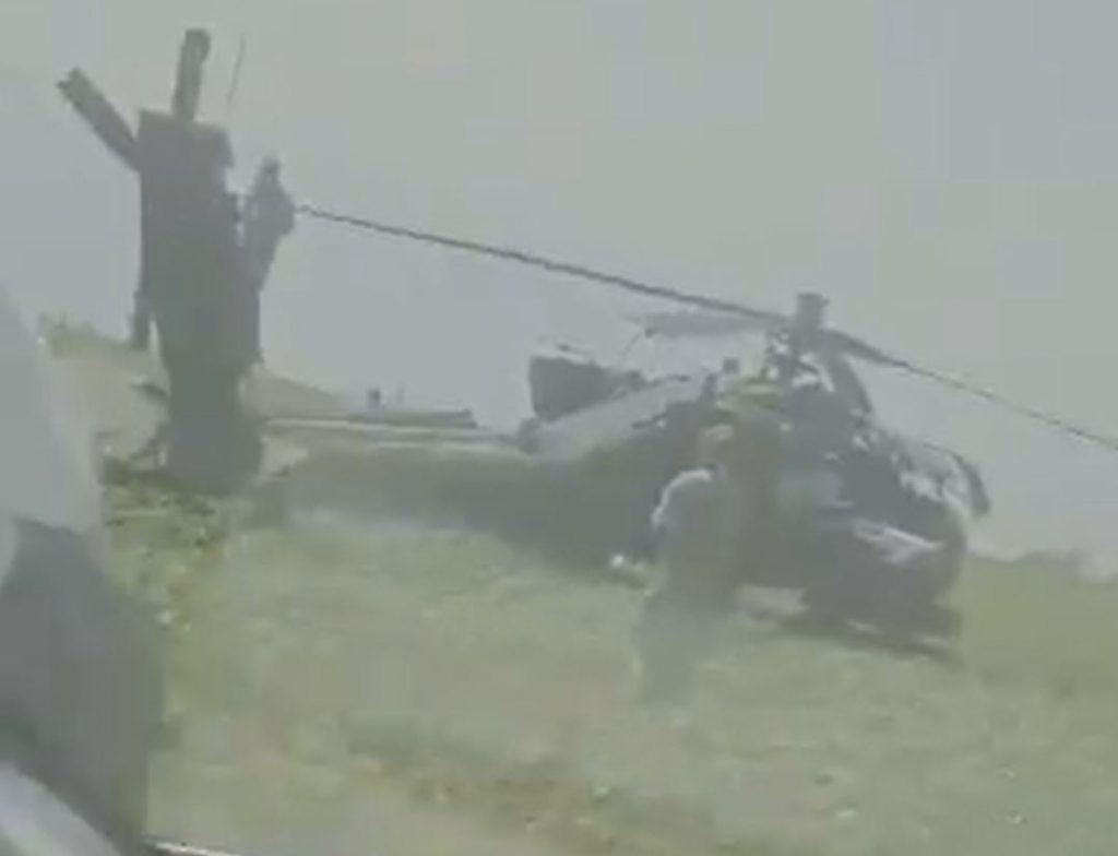 U.S. Army AH-64 Apache Helicopter Made Emergency Landing In Romania