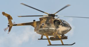 Afghan National Army MD 530F Helicopter Crashes In Kandahar province