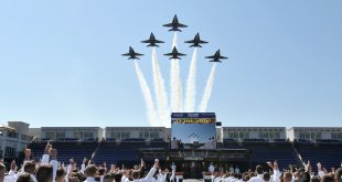 Blue Angels To Fly Over Annapolis For Naval Academy Commissioning