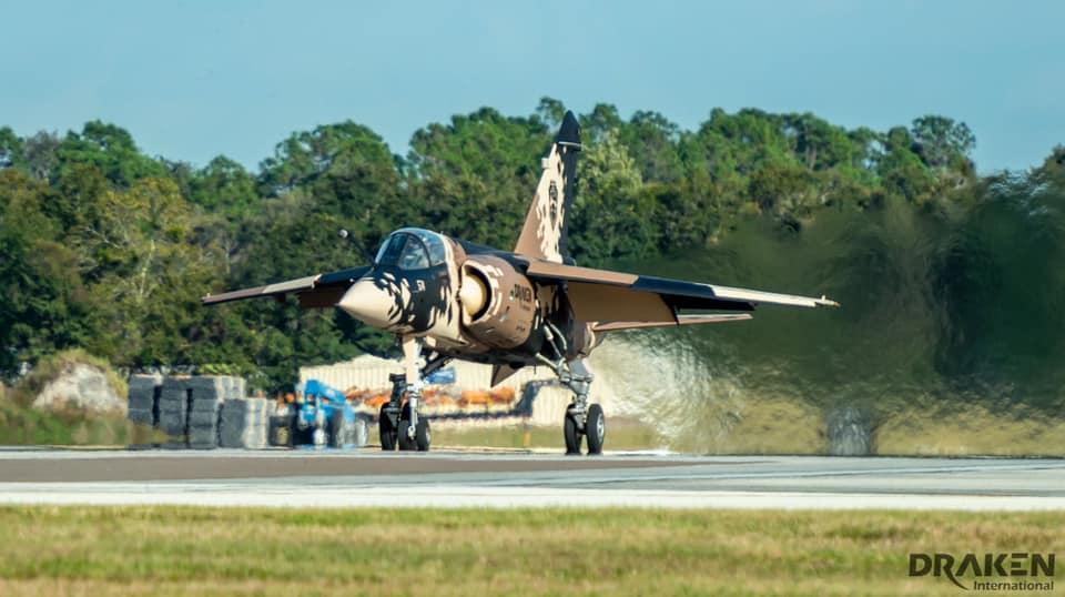 Draken International Mirage F1 Crashes Near Nellis AFB Killing Pilot