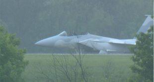 Two USAF Pilots Eject From Qatari F-15QA At Airport Near St. Louis
