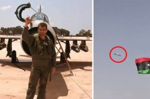 LNA MiG-21 Fighter Jet Crashes at Military Parade Killing Pilot