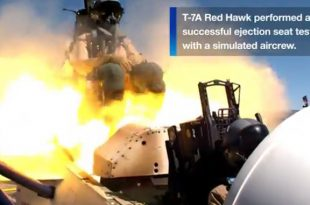 Shocking Footage Shows Two Pilots Blasting Out Of A T-7A Red Hawk