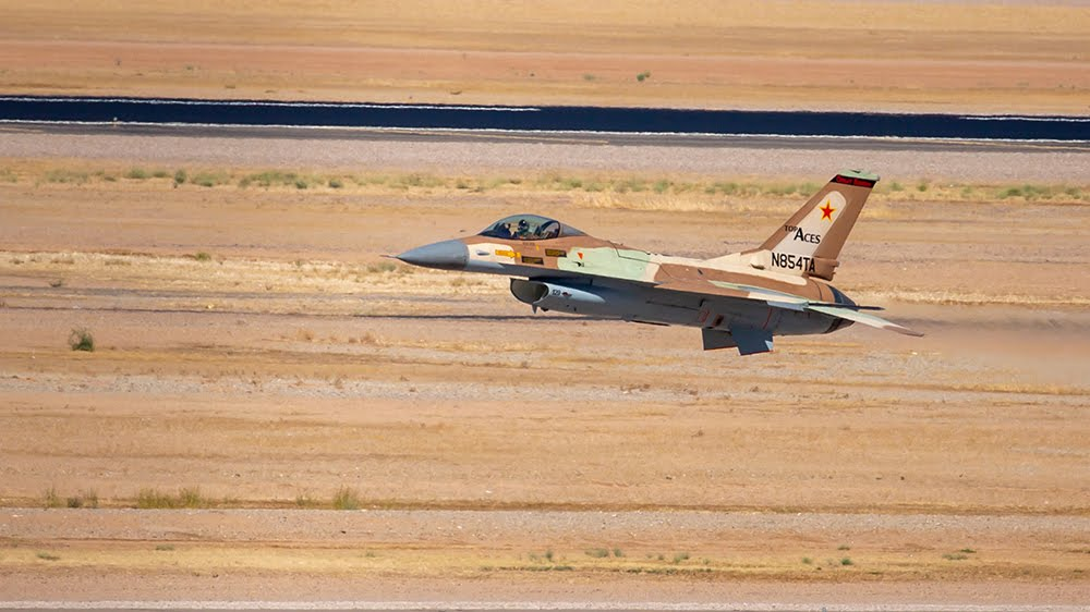 Top Aces Private Aviation Company Flies Former Israeli F-16 For The First Time