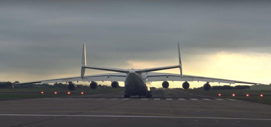 Antonov An-225 Mriya Breaks Perimeter Fence At RAF Brize Norton