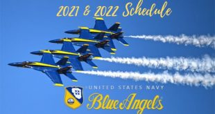 U.S. Navy Blue Angels 2021 and 2022 Air Show Schedule