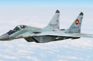 Bulgarian Air Force MiG-29 fighter jet Crashes Into Black Sea, Pilot Missing
