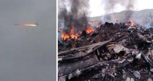Tigray Rebels Claims To Shot Down Ethiopian Air Force L-100-30 Hercules Transport Aircraft