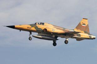 IRIAF F-5F Tiger II Fighter Jet Crashes Near Dezful Killing Both Pilots